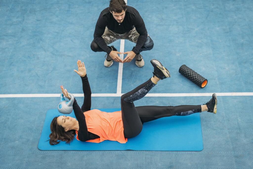Personalni trening vodi program