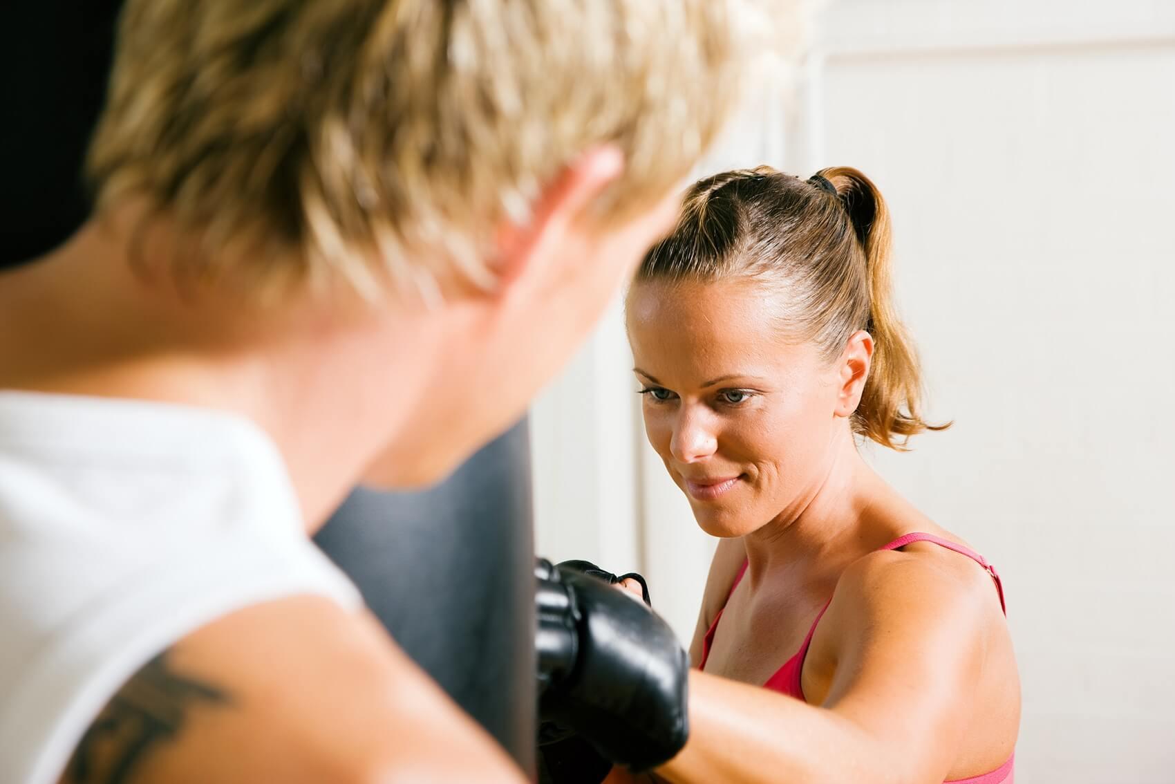 Kardio boks trening