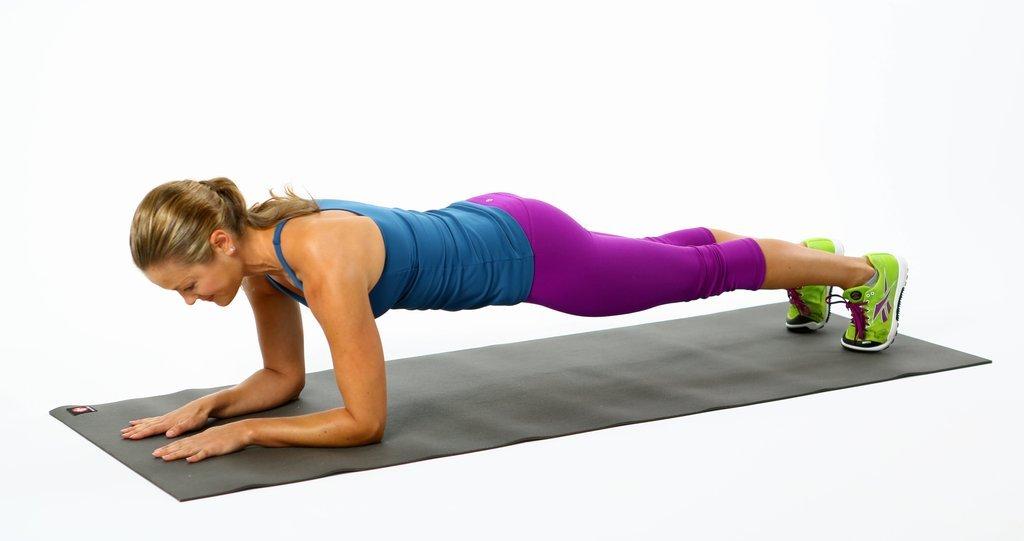 Plank na podlakticama