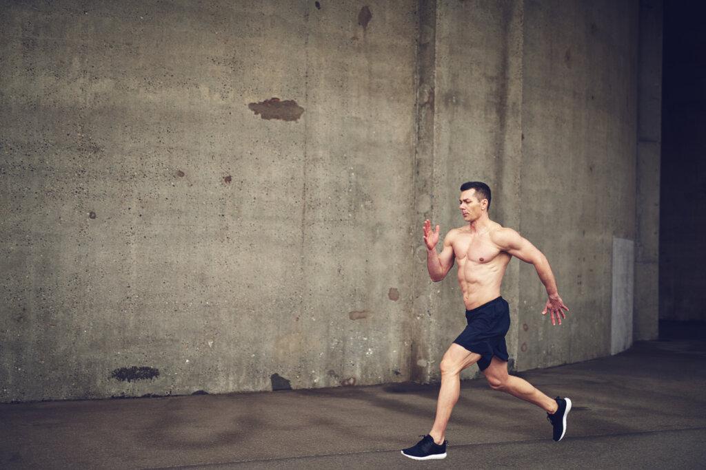 Snazno telo u treningu